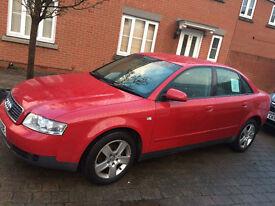 Audi A4 Petrol 2.0 Manual