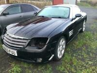 Chrysler crossfire black / all parts available