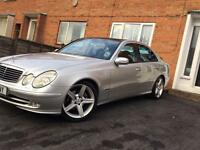 Mercedes Benz E270 cdi Avantgarde in great condition drives well. Would consider swap