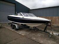 Fletcher Arrowhawk 18ft speed boat 130 Yamaha Outboard
