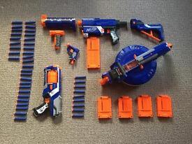 Nerf Gun N-strike collection