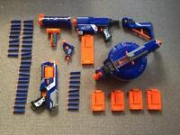 Nerf Gun N-strike collection