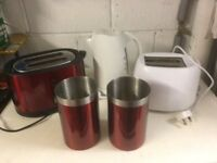 Kettle and Two Toasters