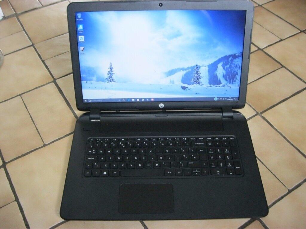 HP NOTEBOOK -17 - p100na