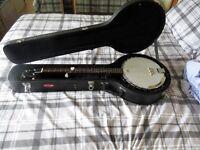 Countryman 5 String Banjo and Hard Case