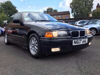 1996 BMW 318 TI * ONLY 49000 MILES + 1 LADY OWNER FROM NEW + 7 MONTHS MOT + PART SERVICE HISTORY *