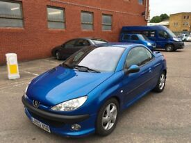 Peugeot 206 Automatic Convertible Good Runner with mot