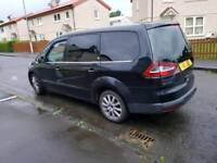 2009 Ford galaxy ghia full leather well looked after