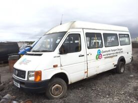 Volkswagen lt 46 mini bus lwb breaking spare parts available