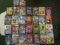 Classic and new Disney dvds