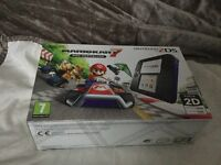 Nintendo 2DS Black & Blue Console with Mario Kart 7 Pre installed