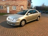 TOYOTA AVENSIS T2 2.0 DIESEL, EXCELLENT DRIVE, MOT MAY 2018, SERVICE HISTORY