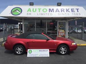 2000 Ford Mustang Convertible, AUTO, VERY NICE!!
