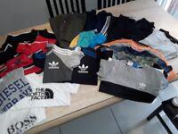 Boys Clothes & Shoe Bundle Suit 8/10