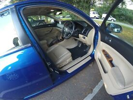 Honda Accord 2.2i CTDi EX 4dr 146500 miles Manual 6 speed Blue with Leather Upholstery.