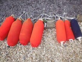 Boat fenders & socks