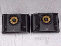 Bowers & Wilkins B&W DS6 THX Certified Dipole Rear Surround Sound Loud Speakers