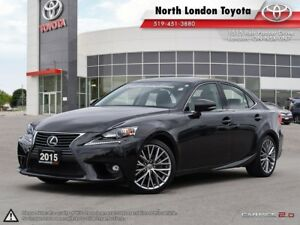 2015 Lexus IS 250 – One of the best in class for fuel rating...