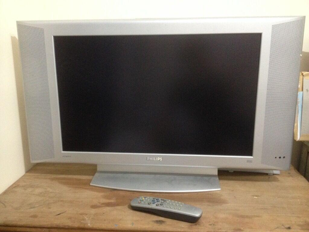 Large Philips Flat Tv 90cm Tv 66cm Screen In Hailsham