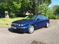 54 JAGUAR X-TYPE 110K FSH 11 MOT NO ADVS 2 OWNERS SAT NAV LEATHER AIR CON £1495
