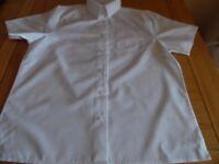 white school blouses x5