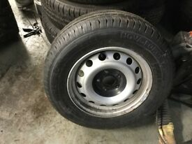 Ford Transit Wheel and tyre 215/65/15c