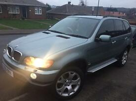 BMW X5 - 3.0i sport. £3299 or £3500 with private plate