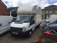 Ford transit Luton body 2013 with tail lift damage side ££900