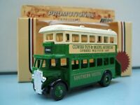 Lledo Model LP D/D AEC Regent Bus Southern Vectis Cowes Toy & Model Museum Isle of Wight