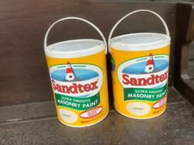 Sandex ultra smooth masonry paint - Magnolia 5 Litre