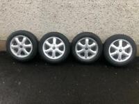 "15"" mini alloy wheels"