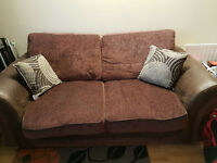 3 Seater Sofa and a 2 Seater Sofa cum Bed for Sale