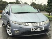 HONDA CIVIC EX 2.2 I-CTDI LOW MILES FULL SERVICE HISTORY MONSTER SPEC £3295