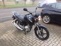 Yamaha ybr 125 new shape
