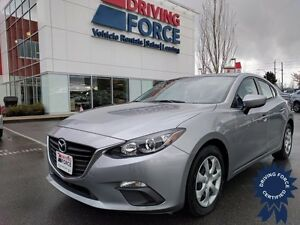 2015 Mazda3 GX Front Wheel Drive - 44,578 KMs, 2.0L Gasoline