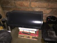 Black bread bin