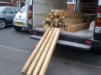 "GOOD CLEAN WOOD TIMBER LENGTH,3""X4FT FENCE POST,GARDEN FURNITURE BUILDING ETC,DELIVERY POSSIBLE"