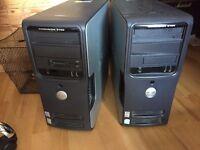 2 Dell Dimension 3100 Desktops for sale