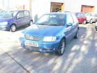Volkswagen Polo S 3dr (blue) 2000