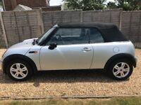 Mini one cabriolet (cheaper to insure than cooper) £1,999