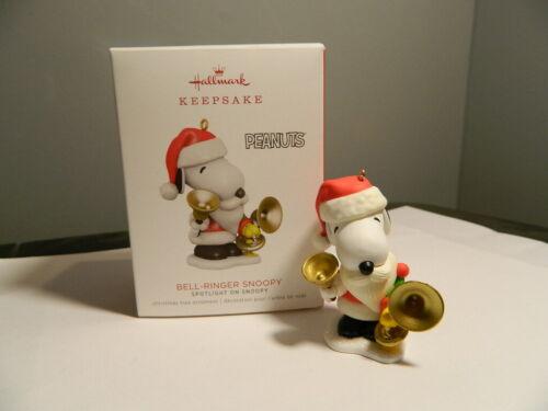 Hallmark Keepsake Ornament Peanuts Gang 2018 Bell-Ringer Snoopy 21st in Series