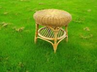 Conservatory WICKER TABLE 500 mm Diam.. & 540mm High