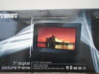 """Texet 7"""" digital picture frame"""