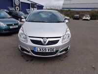 Vauxhall Corsa Club 1.4 Auto 3 Door.Silver, A/C, FULL 12 MONTH MOT, NICE CLEAN EXAMPLE.