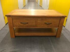 Next Cambridge solid Oak coffee table,