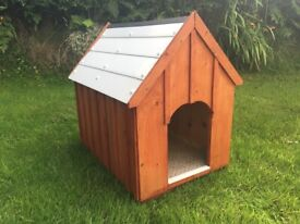 New Wooden Dog Kennel