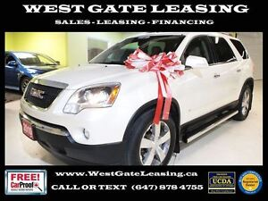 2010 GMC Acadia SLT AWD | REAR VIEW CAMERA | LEATHER |