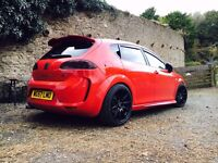 Seat Leon FR 2.0l TDI factory fitted BTCC kit