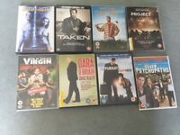 DVDS FOR SALE x 8