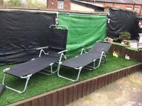 New Garden Sunloungers